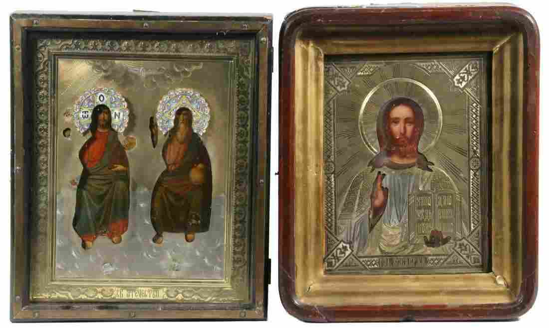 (2) RUSSIAN ICONS