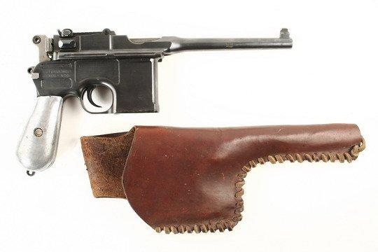 307: German Waffenfabrik Mauser Pistol A Neckor