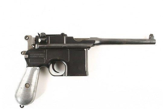 307: German Waffenfabrik Mauser Pistol A Neckor - 2