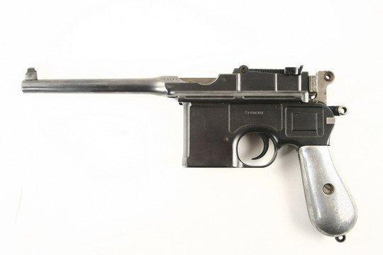 307: German Waffenfabrik Mauser Pistol A Neckor - 3