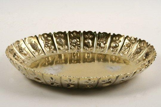 522: Sterling Bowl C Kandler 1786 Kean Presentation