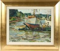 691: OOCB Montgomery Boat Yard Charles J Movalli MA