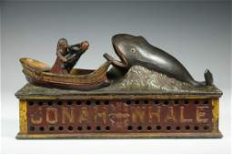 MECHANICAL BANK OF JONAH AND THE WHALE