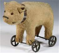 EARLY BEAR PULL TOY