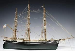 SHIP MODEL BY ALAN COBB