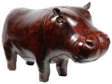 LEATHER HIPPOPOTAMUS BY OMERSA CO.