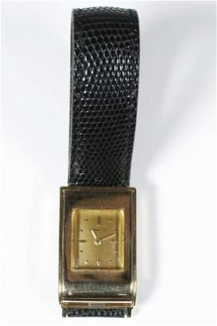 TIFFANY & CO. 14K GOLD GENT'S WRISTWATCH BY