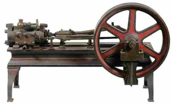 VICTORIAN STEAM ENGINE MODEL