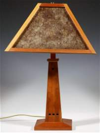 REPLICA ARTS AND CRAFTS TABLE LAMP