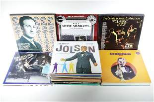 (51) JAZZ, BIG BANDS & SWING RECORD ALBUMS
