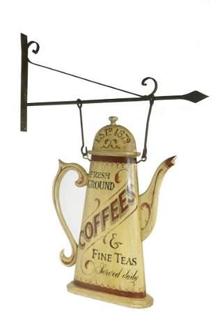 COFFEE TRADE SIGN