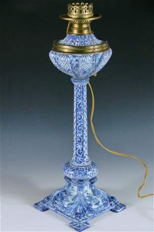 DELFT BANQUET LAMP