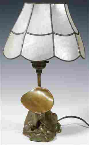 MCCLELLAND BARCLAY BRONZE LAMP