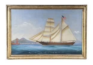 EARLY 19TH C. SHIP PORTRAIT
