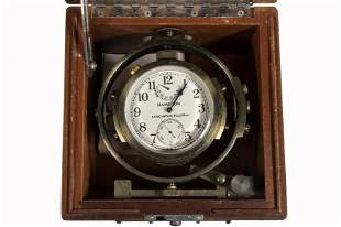 HAMILTON MOUNTED CHRONOMETER WATCH MODEL 22