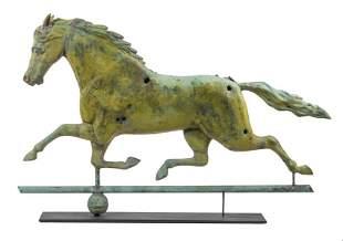 J. HARRIS & SON HORSE WEATHERVANE