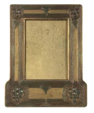 TIFFANY STUDIOS ABALONE PICTURE FRAME