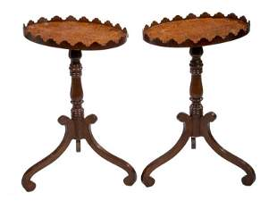 PR OF OVAL TOP SIDE STANDS