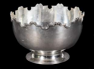 GEORGE V SILVER MONTEITH BOWL