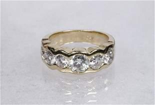 DIAMOND ANNIVERSARY BAND IN 14K GOLD