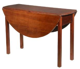 AMERICAN CHIPPENDALE GATE LEG TABLE