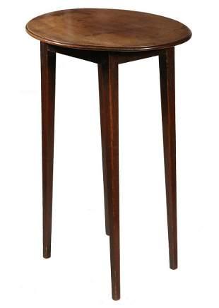 HEPPLEWHITE OVAL SIDE TABLE