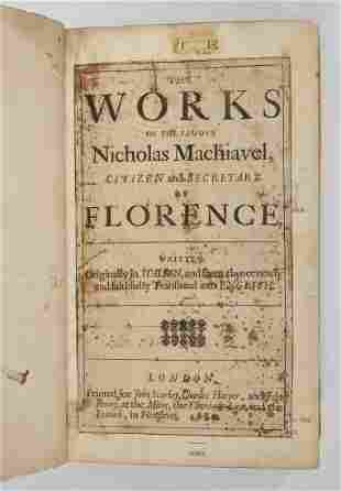 SCARCE 18TH C. THIRD EDITION ENGLISH PRINTING OF 1680