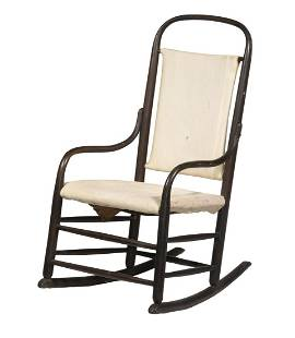 BENTWOOD ROCKING CHAIR, HENRY I. SEYMOUR CHAIR CO.,