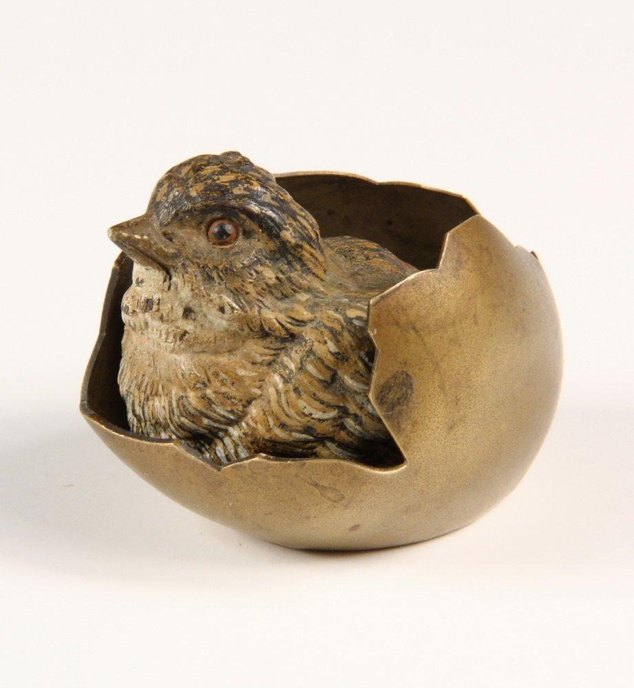 COLD PAINTED AUSTRIAN BRONZE - Vienna Bronze of a