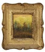 OIL ON CANVAS BOARD  Impressionist Landscape