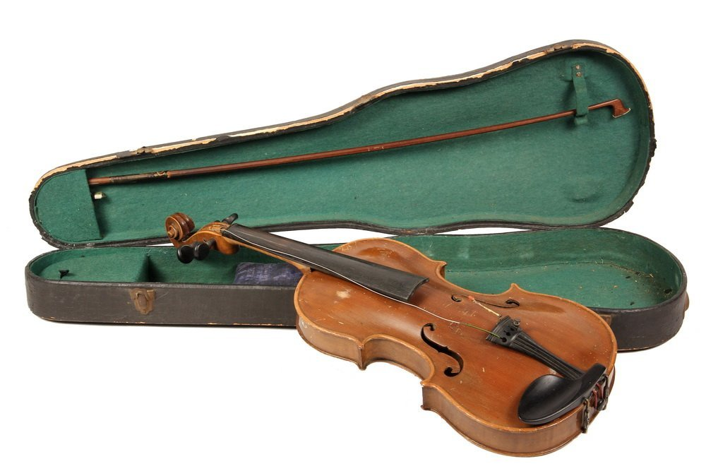 VIOLIN IN CASE - Jacobus Stainer Copy, Czechoslovakia,