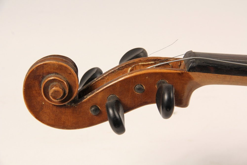 VIOLIN IN CASE - Jacobus Stainer Copy, Czechoslovakia, - 4