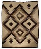 """NAVAJO RUG - 82"""" x 74"""" - Large room sized, in shades of"""