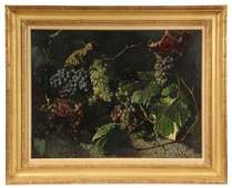 "WILLIAM MASON BROWN (NY/NJ, 1828-1898) - ""Still Life"