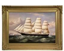 RICHARD BARNETT SPENCER UK active 18401874 Ships