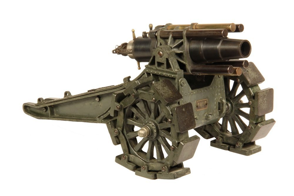 MARKLIN TOY CANNON - Scarce Large Scale All Metal Model