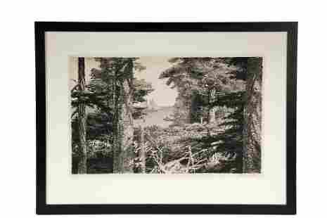 STOW WENGENROTH (NY/MA, 1906-1978); 'Lumber Schooner',