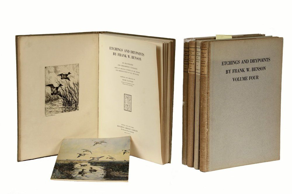 """5 VOLUME CATALOGUE RAISONNE - """"Etchings and Drypoints"""