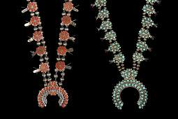 (2) NECKLACES - Group of (2) Zuni Crafted Native