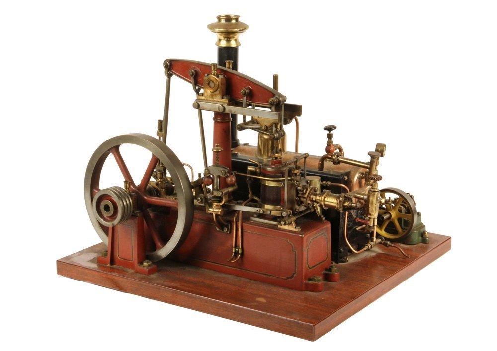 MODEL STEAM ENGINE - Stuart Model of Watts