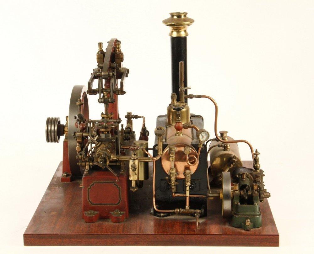MODEL STEAM ENGINE - Stuart Model of Watts - 2