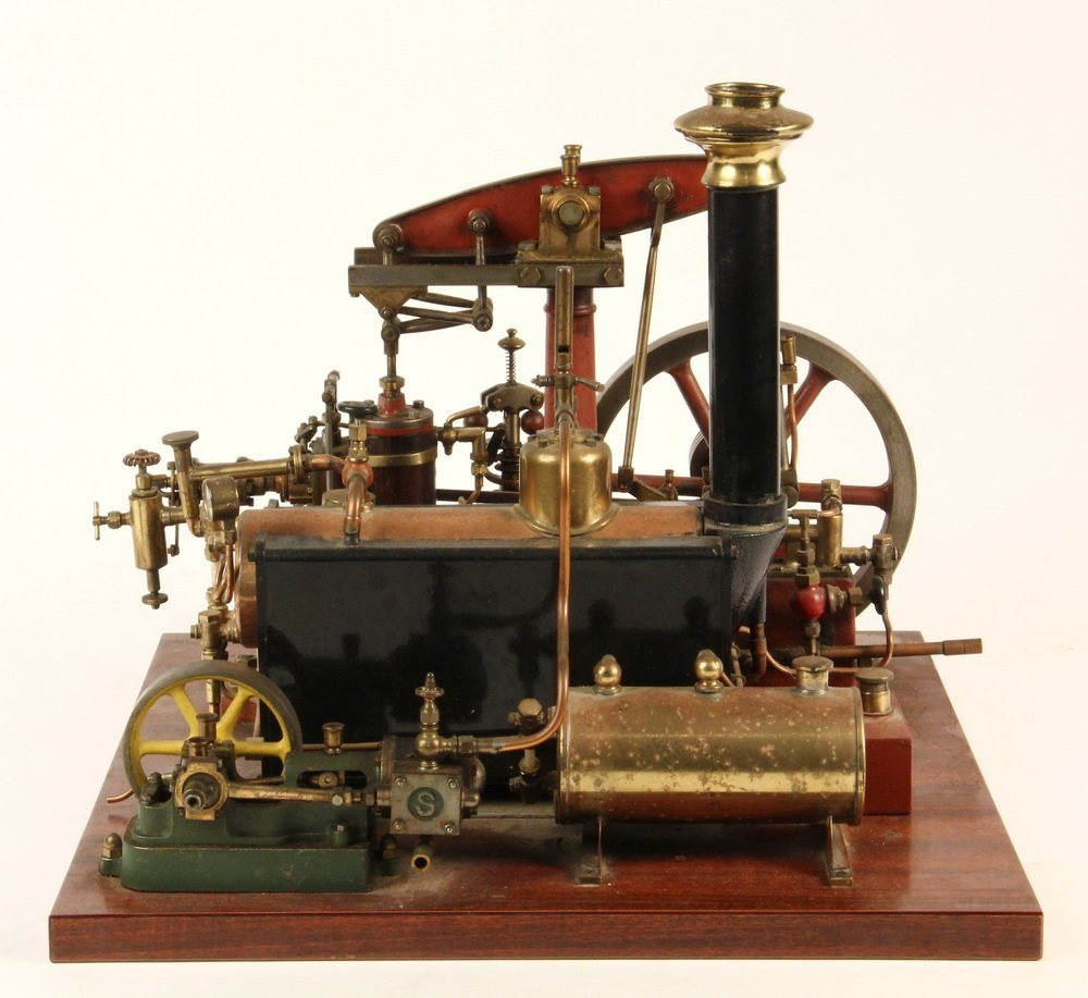 MODEL STEAM ENGINE - Stuart Model of Watts - 3