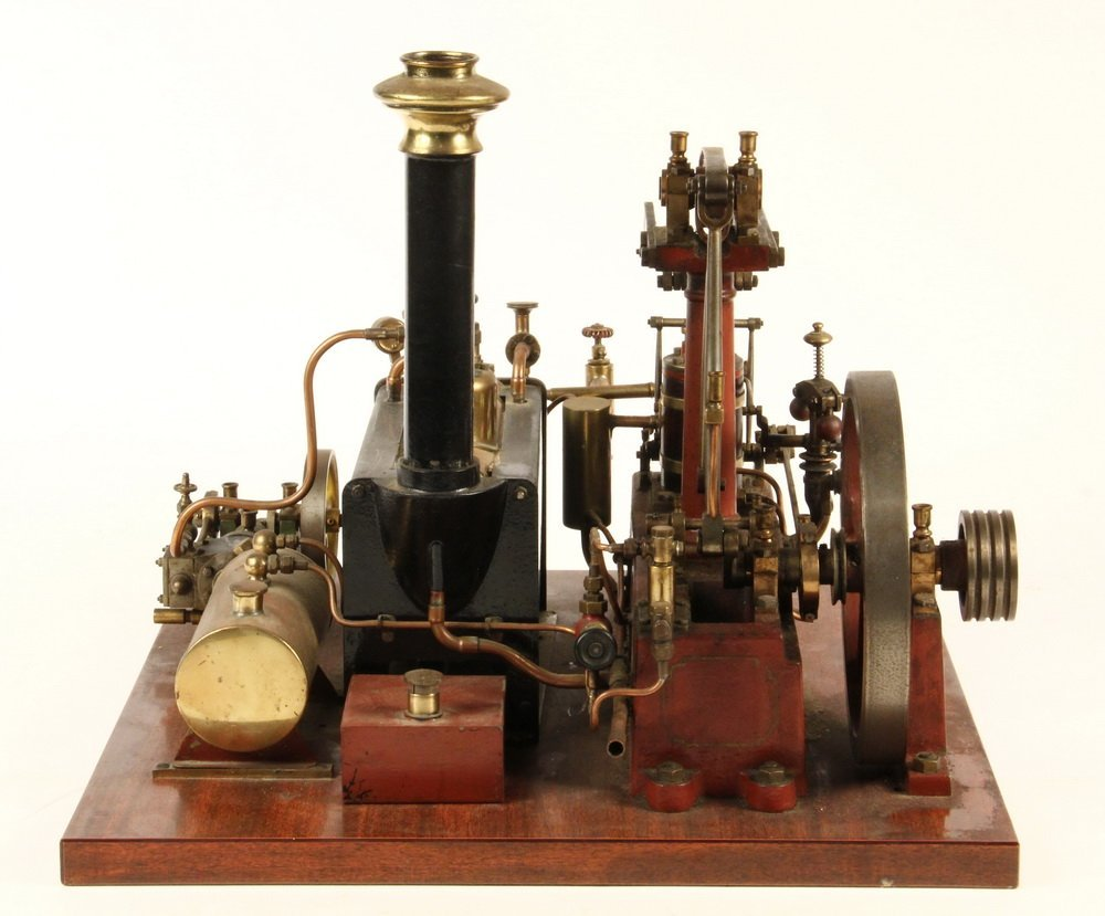 MODEL STEAM ENGINE - Stuart Model of Watts - 4