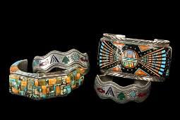 NATIVE AMERICAN BRACELETS - Group of (4) Native