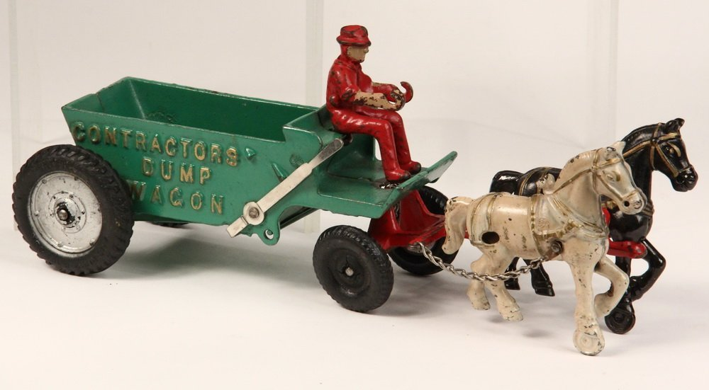 (2) CAST IRON TOYS - Both by Arcade Mfg Co of Freeport, - 3