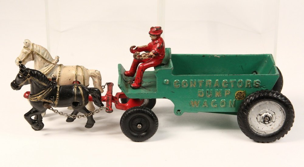 (2) CAST IRON TOYS - Both by Arcade Mfg Co of Freeport, - 5