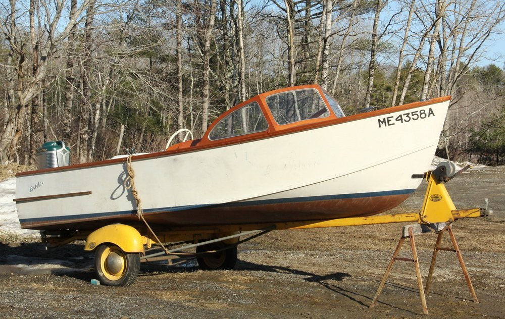 16 FOOT BRISTOL RUNABOUT - Boat, Motor and Trailer, all