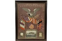 MILITARY NEEDLEWORK - American Memorial Needlework on