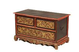 EARLY CHINESE STRAITS CHEST - Straits Chinese (Baba