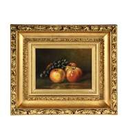NAIVE STILL-LIFE PAINTING - A Study of Apples and